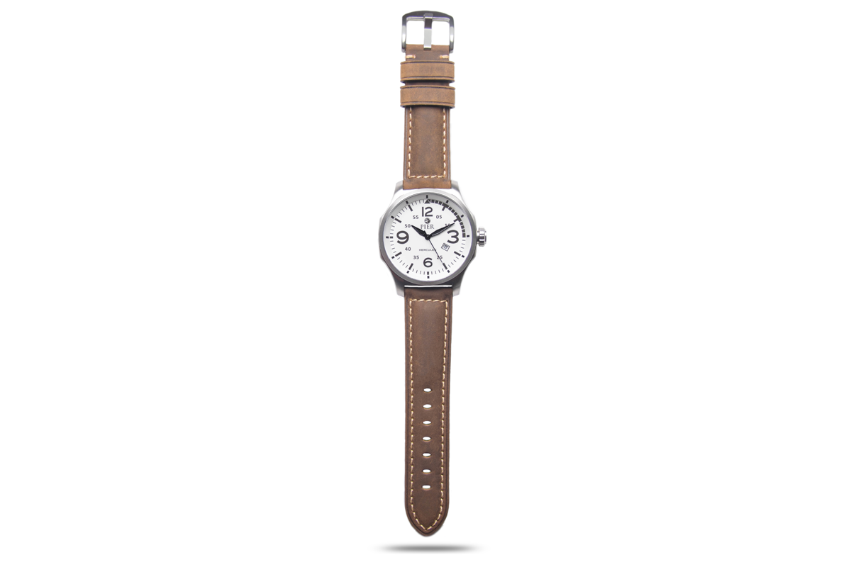 Hercules Stainless Steel w new strap